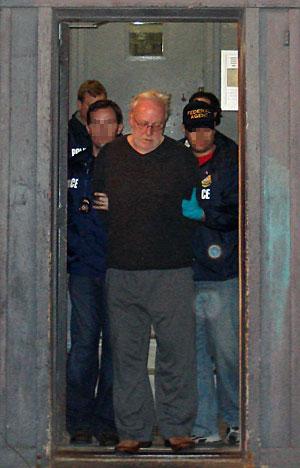 Corliss, tras ser detenido. (Foto: REUTERS | U.S. Immigration and Customs Enforcement)