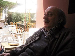 Walid Jumblatt, en su residencia de Clemenceau (Beirut). (Foto: M.G.P.)
