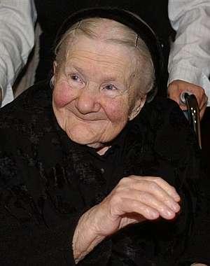 Irene Sendler, en 2007, durante una ceremonia en Varsovia. (Foto: AP)
