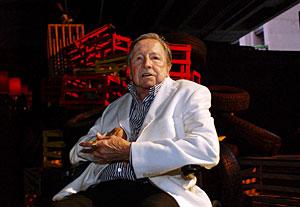 Robert Rauschenberg en 2006. (Foto: Ann Johansson   AP)