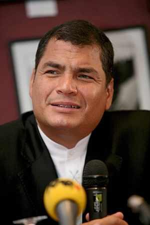Rafael Correa. (Foto: EFE)