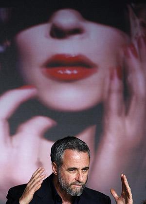 Ari Folman, en la rueda de prensa en Cannes. (Foto: REUTERS)