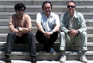 Tomás Fernando Flores, Diego Manrique y Jesús Ordovas, directores de 'Siglo XXI', 'El Ambigú' y 'Diario Pop', respectivamente.