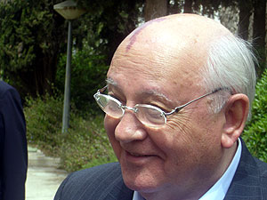 El ex presidente ruso, Mijail Gorbachov. (Foto: Sal Emergui)