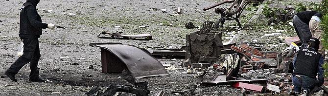 Daños que ha causado la explosión. (Foto: AP)