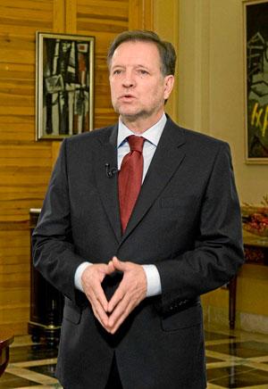 El presidente de Aragón Marcelino Iglesias. (Foto: EL MUNDO)