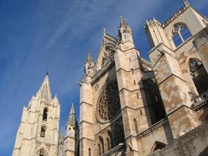 Imagen de la Catedral de León.