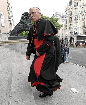 El cardenal, monseñor Rouco Varela. (Foto: Kike Para)