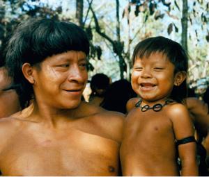 Indígenas de la Amazonia. (Foto: Fiona Watson | Survival).