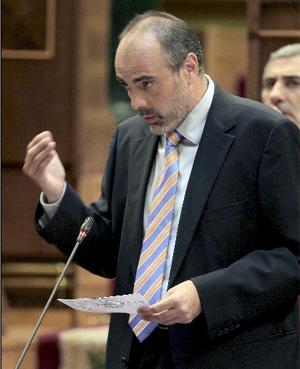 El portavoz de Esquerra en el Congreso, Joan Ridao. (Foto: EFE)