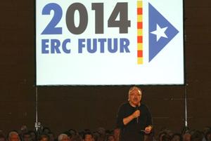 Carod-Rovira ha hecho de la consulta de 2014 elemento central de su estrategia política. (Foto: Antonio Moreno)