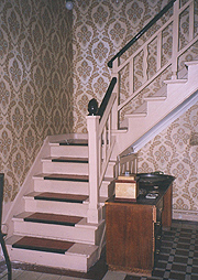 Escaleras originales.