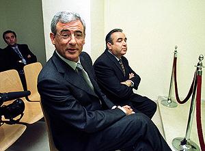 Luis Fernando Cartagena y Ángel Fenoll en el juicio contra ellos por malversación de caudales públicos (Foto: EFE).