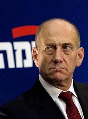 El primer ministro israelí, Ehud Olmert. (Foto: AP)
