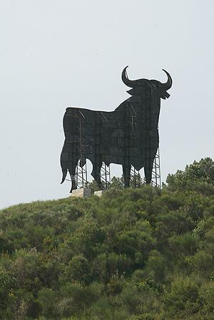 Toro del Osborno del Bruc. (Foto: Antonio Moreno)