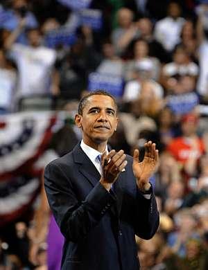 El candidato demócrata a la presidencia de la Casa Blanca, Barack Obama. (Foto: AFP)