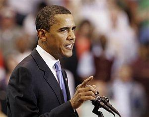 Obama, en un momento de su discurso. (Foto: AP)