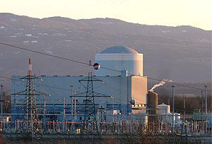 Imagen de la central del pasado mes de febrero. (Foto: EFE)