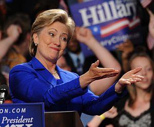 Hillary Clinton, durante un discurso el pasado 3 de junio. (Foto: AFP)