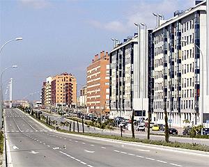 Bloques de viviendas del Ensanche de Vallecas. (Foto: Paco Toledo)