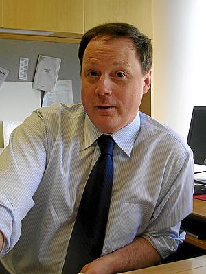 John Harris, cofundador y director de 'The Politico'.