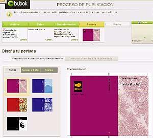 Los escritores participan también en el diseño de la portada de sus obras.