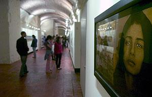 Exposición sobre los desaparecidos en América Latina. (Foto: EFE)
