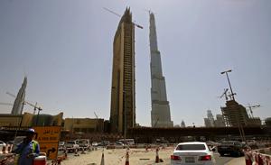 La Burj Dubai, en Emiratos Árabes Unidos. (FOTO: REUTERS)