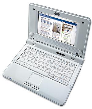Vea con detalle el ordenador ultraportátil Airis Kira.