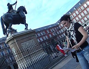 El inmueble se encuentra a 20 metros de la Plaza Mayor de Madrid.