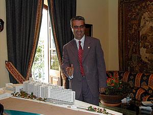 El alcalde de Estepona, Antonio Barrientos. (Foto: Cavanillas)