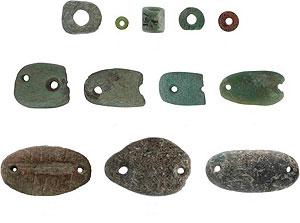 los amuletos de la suerte de los primeros agricultores del oriente