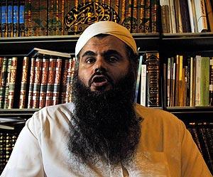 El clérigo radical Abu Qutada. (Foto: AP)