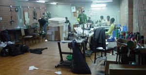 Sótano en el que se encontraba el taller. (Foto: Mossos d'Esquadra)