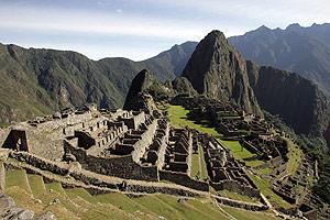 Vista panorámica de la ciudad inca de Machu Picchu. (Foto: AFP)