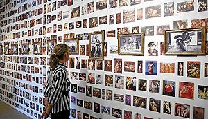 Imagen de la muestra inaugurada este martes en la Sala Parpalló de Valencia (Foto: BENITO PAJARES).