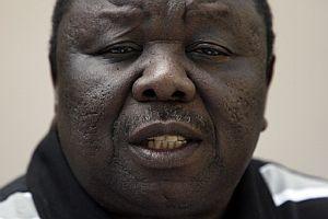 Morgan Tsvangirai, líder opositor de Zimbabue. (Foto. AFP)