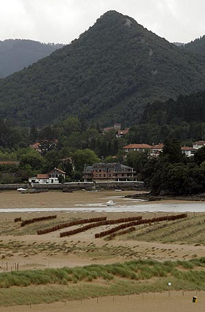Playa de Laida, en Urdaibai. (Foto: Iñaki Andrés)