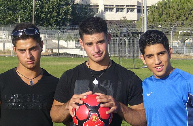 Madjed Abdelrajman, Or Hayet y Mohamed Ali. (Foto: Sal Emergui)