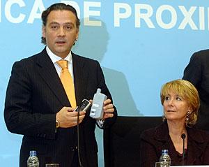 Prada y Aguirre, en una imagen de 2004. (Foto: Jaime Villanueva)