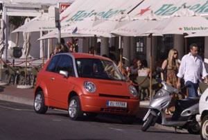 Imagen de un coche como los que se usarán en el programa parisino.