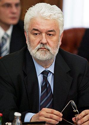 Imagen de archivo de Mirko Cvetkovic, ministro de finanzas serbio, en Belgrado, en mayo. (Foto: AFP)