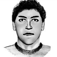 Retrato robot del agresor elaborado por la Guardia Civil.