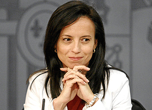 Beatriz Corredor. (Foto: Antonio Heredia)