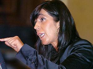 La nueva candidata a presidir el PP catalán, Alicia Sánchez-Camacho. (Foto: EFE)
