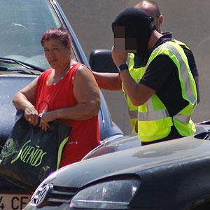 Francisca Cortés, 'La Paca' ha sido detenida (Foto: Jordi Avellà)