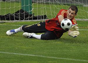 Iker Casillas. (Foto: Reuters)