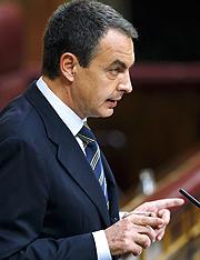 Zapatero. (Foto: EFE)