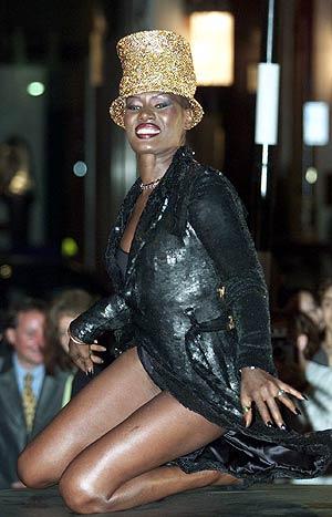 La cantante jamaicana, Grace Jones. (Foto: EL MUNDO)