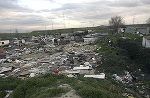 Panorama del poblado chabolista de El Salobral. (Foto: Carlos Miralles)